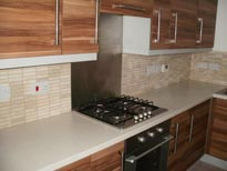 Service with a tile - Kitchen refit and tiling